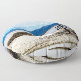 Nude Beach Floor Pillow