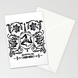sicilia- trinacria Stationery Cards