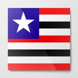 flag of maranhao Metal Print