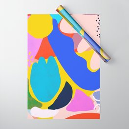 Unbridled Enthusiasm - Shapes and Layers no.38 Wrapping Paper