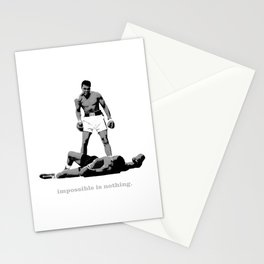Impossible Is Nothing Stationery Cards