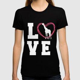 Giraffe T Shirt For Women T-shirt