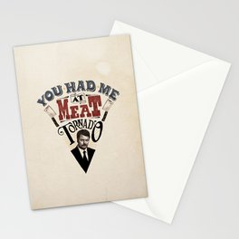You Had Me At Meat Tornado Stationery Cards