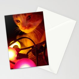 Jaspar Jonze and His Christmas Lights Stationery Cards