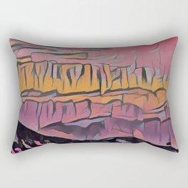 Abstract 3 Rectangular Pillow