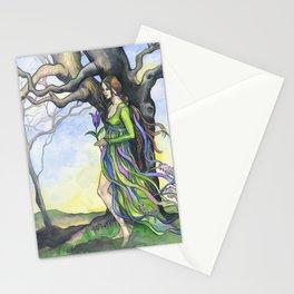 """""""Tree Spirit"""" - by Fanitsa Petrou Stationery Cards"""