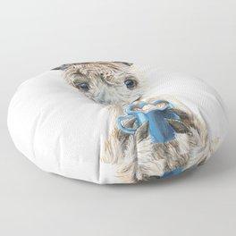 Llama Latte Floor Pillow