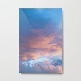 Sunset Colours - Photography Art Metal Print