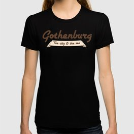 Gothenburg - The city & the sea T-shirt