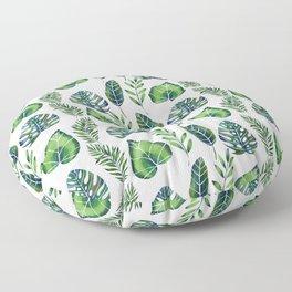 Tropical Ferns Floor Pillow