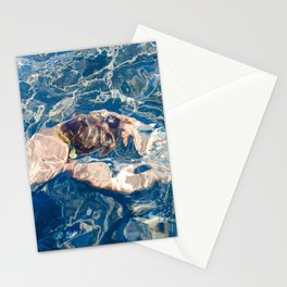 Underwater diffraction Stationery Cards