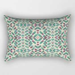Bohemian Boho Ornament Pattern Rectangular Pillow