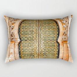 Door Hassan Tower Morocco - For Doors & Travel Lovers Rectangular Pillow