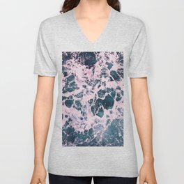 Sea And Ocean Waves 9 Unisex V-Neck