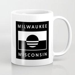 Milwaukee Wisconsin - Black - People's Flag of Milwaukee Coffee Mug
