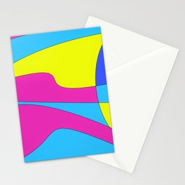 Colors in Sound Neon Stationery Cards