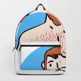 Beard Boy: Ginger Love Backpack