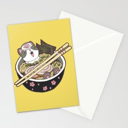 Ramen Kitty Fantasy Stationery Cards