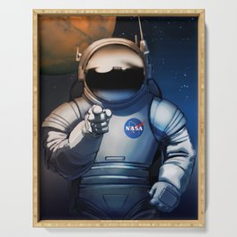 NASA Recruitment Poster /We Need You Serving Tray
