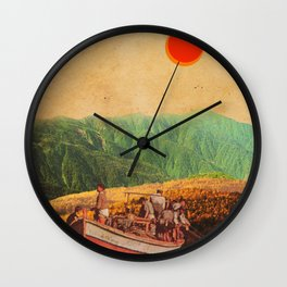 Eternal Noons Wall Clock