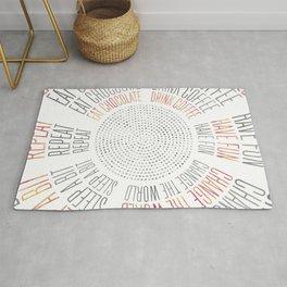 GRAPHIC ART Life Circles Rug