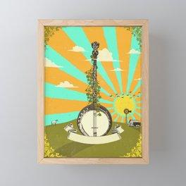 BANJO SUNRISE Framed Mini Art Print