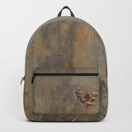 Gross Zombie Grunge Abstract Blistered Surface Graphic Backpack