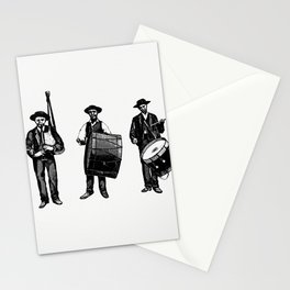Marching band from The Minho Pittoresco Luxury Edition Illustrated With illustrated by Joo de Almeid Stationery Cards
