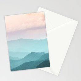 Smoky Mountain National Park Sunset Layers II - Nature Photography Stationery Cards