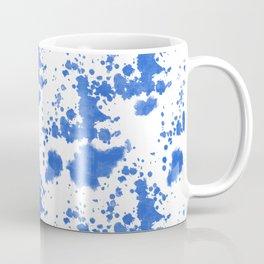 My paint blue Coffee Mug