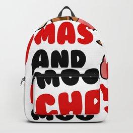 Sweet cow wish Merry Christmas Backpack