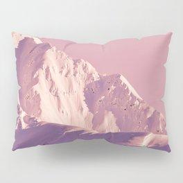 Pink Sherbet - Alaskan Mts. I Pillow Sham