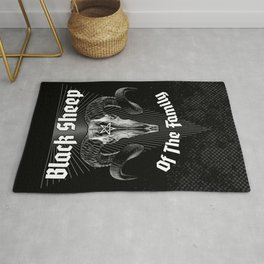 Black Sheep Of The Family Rug