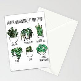 Plants Tree Stationery Cards