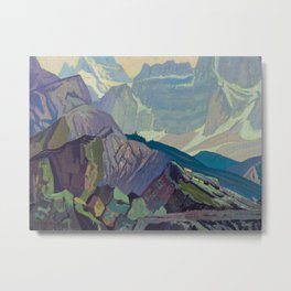 Goat Range Rocky Mountains, 1932, McMichael Canadian J.E.H. Macdonald Metal Print