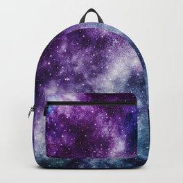 Purple Blue Galaxy Nebula Dream #1 #decor #art #society6 Backpack