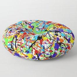 Splat! 1 (Rainbow) Floor Pillow