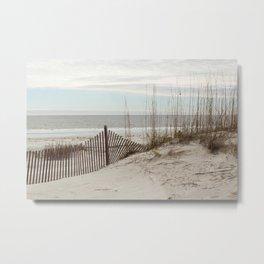 Sandbrake at the Beach Metal Print