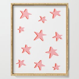 Stars Double Serving Tray