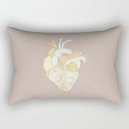 A Heart Unwritten Rectangular Pillow