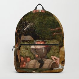 "Hieronymus Bosch ""Allegory of Gluttony"" Backpack"