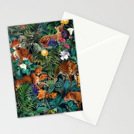 Dangers in the Forest XIV Stationery Cards