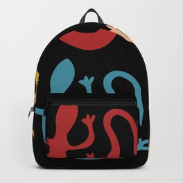 Retro Geckos Pet Backpack