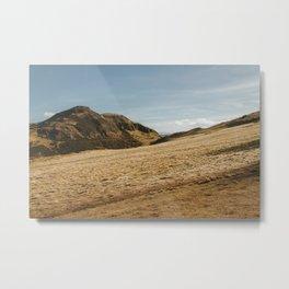 Arthur's Seat | Holyrood Park | Hills of Edinburgh II Metal Print