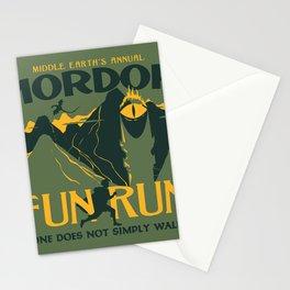 FUN RUN Stationery Cards
