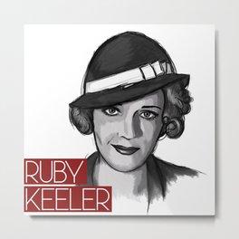 1930s Ruby Metal Print