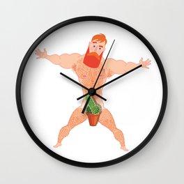 Uncensored Wall Clock