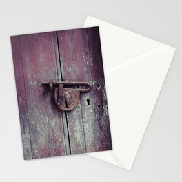 Padlock Stationery Cards