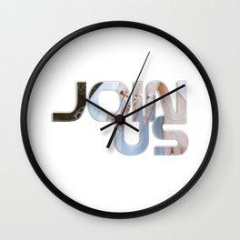 Join Us Wall Clock