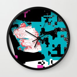 Breaking Up – Lost in Time Wall Clock
